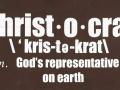 Christocrat-shirt-back