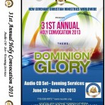 31st Convocation-2013-Evening Services