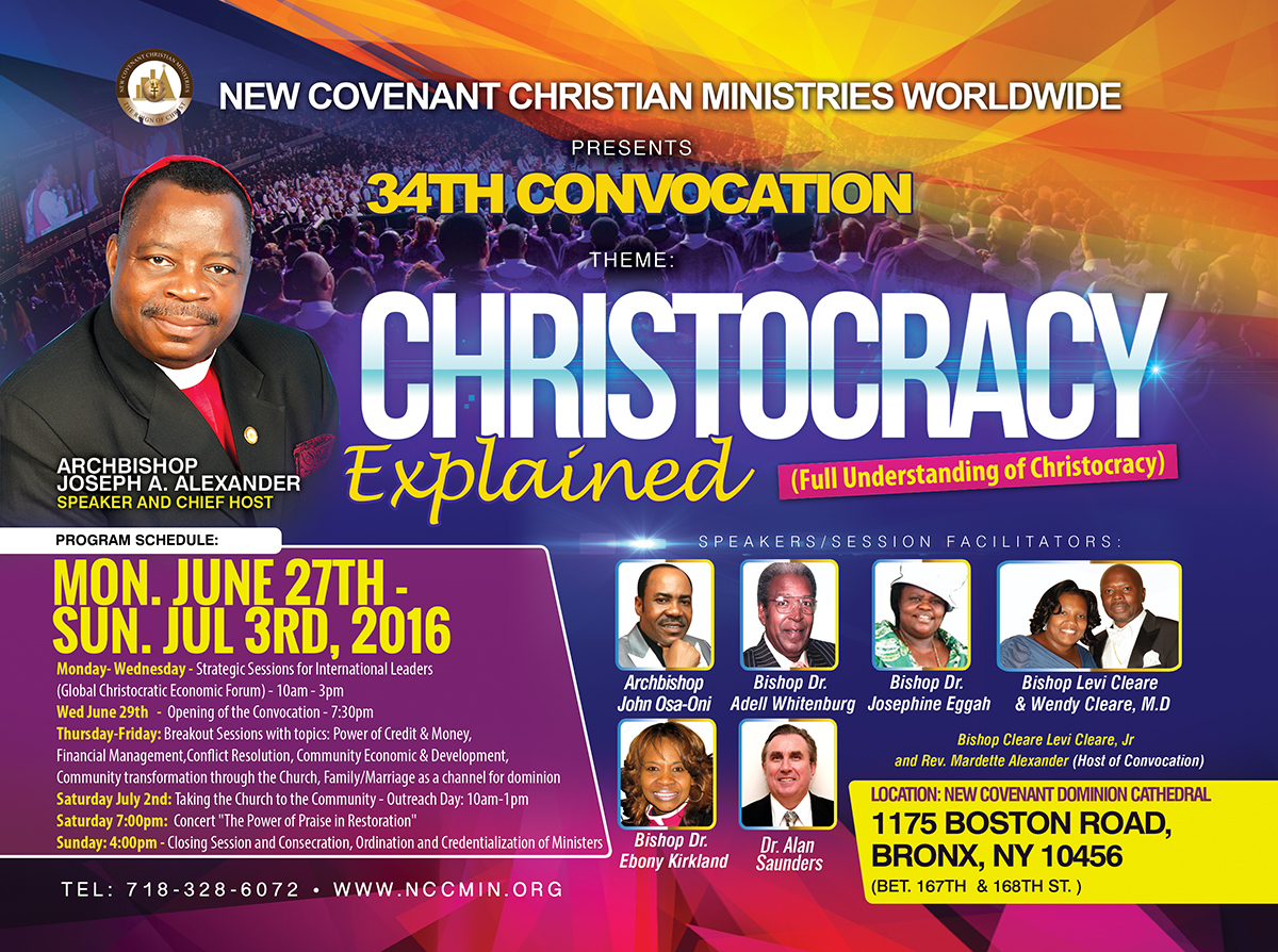 Convocation @ New Covenant Christian Ministries | New York | United States